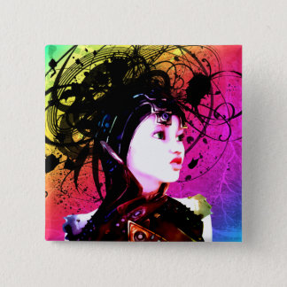 Creative Funk Industrial Surrealism Art Pinback Button