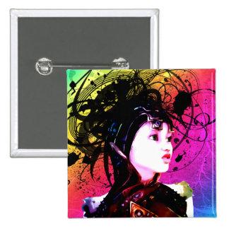 Creative Funk Industrial Surrealism Art Pinback Button