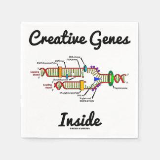 Creative Genes Inside (DNA Replication) Disposable Napkins