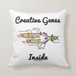 Creative Genes Inside (DNA Replication) Pillows