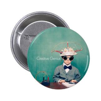 Creative Genius Designs Button