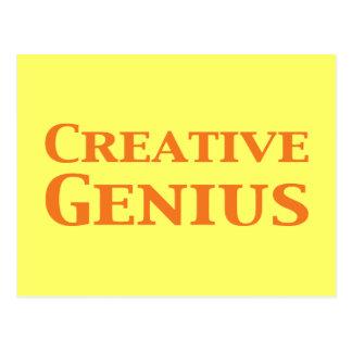 Creative Genius Gifts Postcard