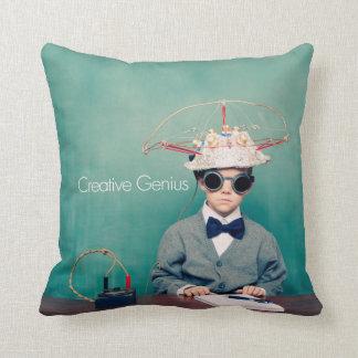 CREATIVE GENIUS retro Decorative Pillow