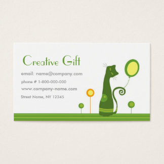 Creative Gift Shop Business Card Template