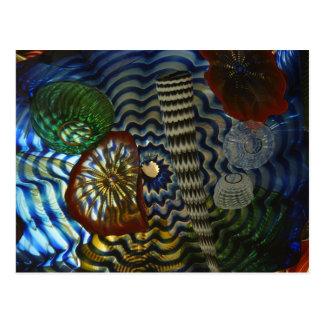 Creative Glass Blowing Postcard