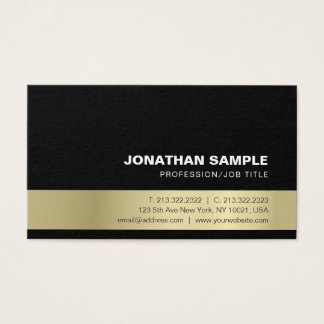 Creative Gold Look Elegant Modern Professional Business Card