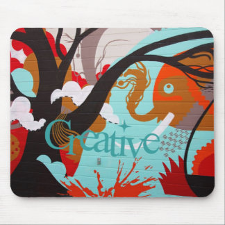 Creative Graffiti Mousepad