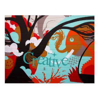 Creative Graffiti Postcard