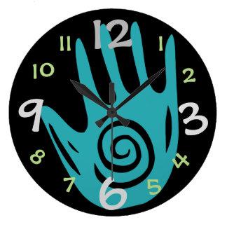 Creative Hand Wall Clock for Art/Craft Room