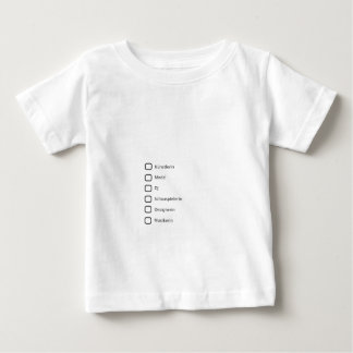Creative Hipster Baby T-Shirt