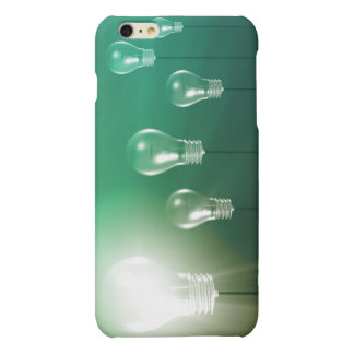 Creative Innovation and Glowing Concept as a Art Matte iPhone 6 Plus Case
