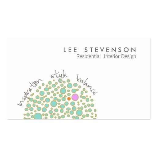 Creative interior design business card zazzle for Creative interior design name card