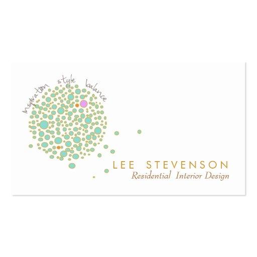 Creative interior designer business card zazzle for Creative interior design name card
