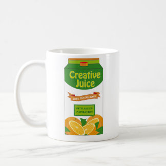 Creative Juice Carton Coffee Mug