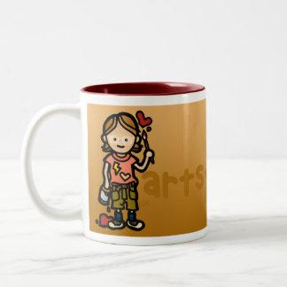 creative juices. Two-Tone coffee mug