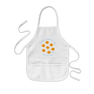 Creative Kids Inspirational Goldfish Art Smock Kids' Apron