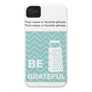 Creative Kitchens - Grater on chevron. Case-Mate iPhone 4 Cases