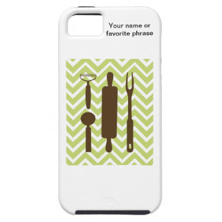 Creative Kitchens - Rolling pin on chevron. iPhone 5 Cover