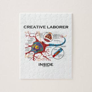 Creative Laborer Inside (Neuron / Synapse) Puzzles