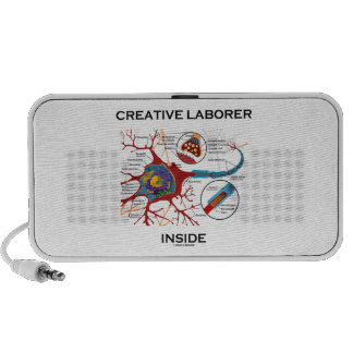 Creative Laborer Inside (Neuron / Synapse) iPhone Speaker