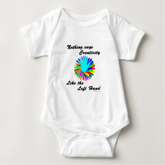 Creative Left Hand Baby Bodysuit
