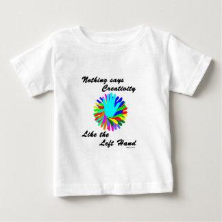 Creative Left Hand Baby T-Shirt