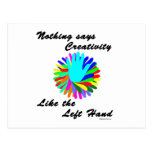 Creative Left Hand Post Cards