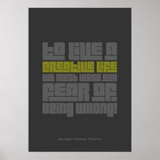 Creative Life Poster