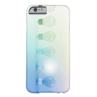 Creative Light Bulb Idea Abstract Infographic Barely There iPhone 6 Case