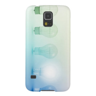 Creative Light Bulb Idea Abstract Infographic Galaxy S5 Case