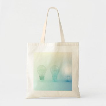 Professional Business Creative Light Bulb Idea Abstract Infographic Tote Bag