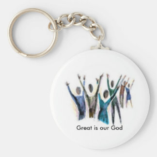 Creative Love - Great is our God Keychain