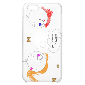 Creative Marriage Proposal Cover For iPhone 5C