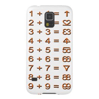 Creative Math Symbols Case For Galaxy S5