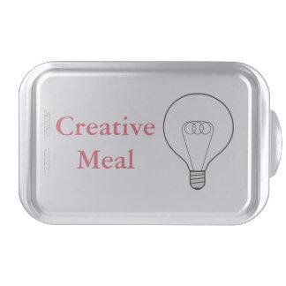 Creative Meal Backform texto rosa Molde Para Pasteles