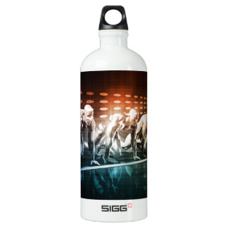 Creative Media and Digital Content Network as Art Water Bottle