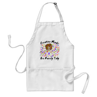 Creative Minds Are Rarely Tidy Apron