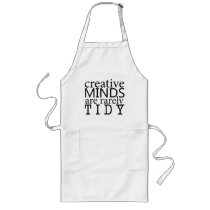 Creative Minds are Rarely Tidy Chef's Apron