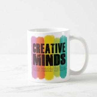 Creative Minds Color Outside the Lines Mug