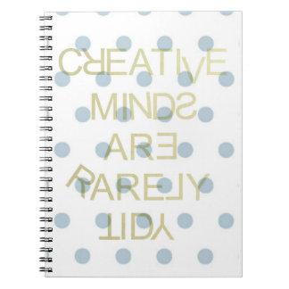 Creative Minds, Notebook