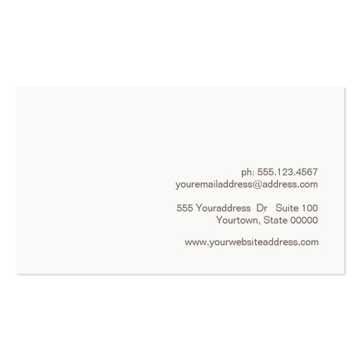 Creative Minimalist Aged Texture Look Professional Business Card Templates (back side)