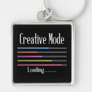 Creative Mode Loading Artist Key Chain