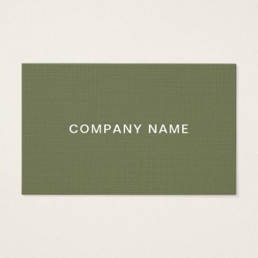 Creative Modern Design Professional Plain Luxury Business Card
