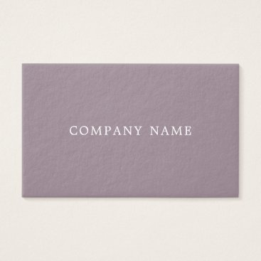 Creative Modern Design Trendy Plain Luxury Thick Business Card