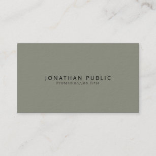 Thick business cards zazzle creative modern elegant premium thick luxury business card reheart Images