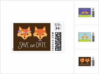 Creative, Modern, & Unique Save the Date Postage