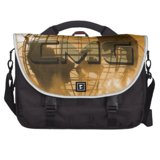 Creative Movement Global Globe Logo Laptop Messenger Bag