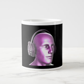 Creative Music and Dream State Technology as Art Large Coffee Mug