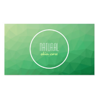 Creative nature theme business card