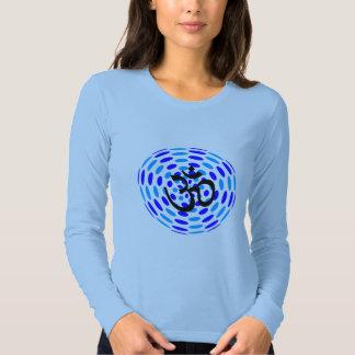 Creative Om - Long Sleeve Yoga Tops T Shirt
